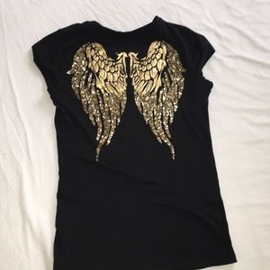 Guess angel wings T-shirt